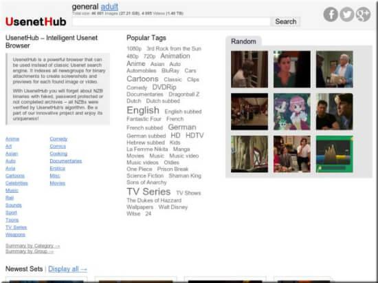 Usenethub Usenet Search