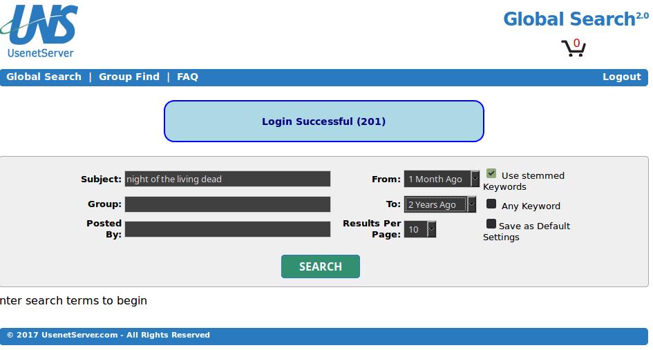 Usenetserver Search Term