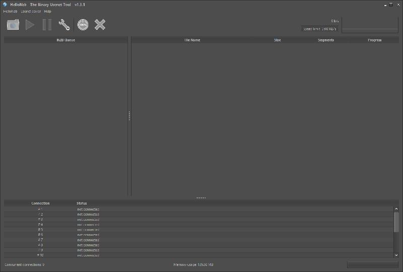 Hellonzb Interface