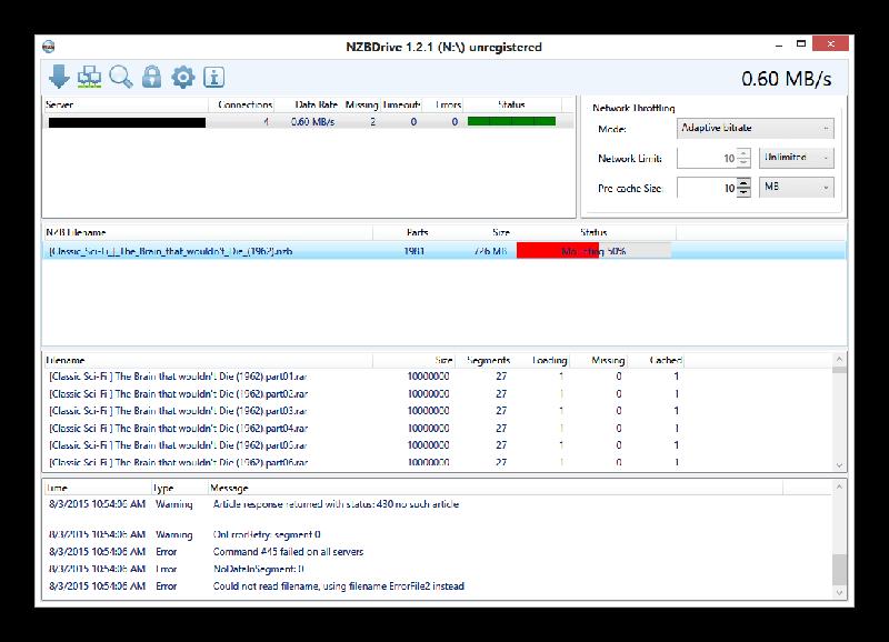 Nzbdrive Downloading