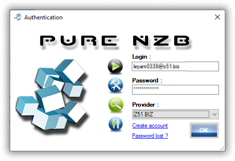 Purenzb Newsreader Create an Account and Log In