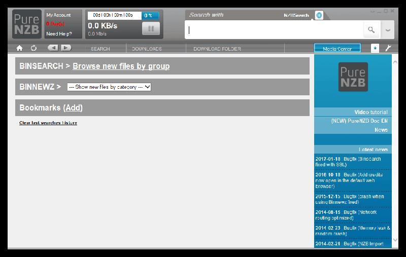 Purenzb Newsreader Interface