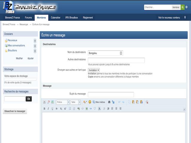 Binnewz Contact Form