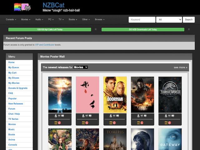 Nzbcat New Releases