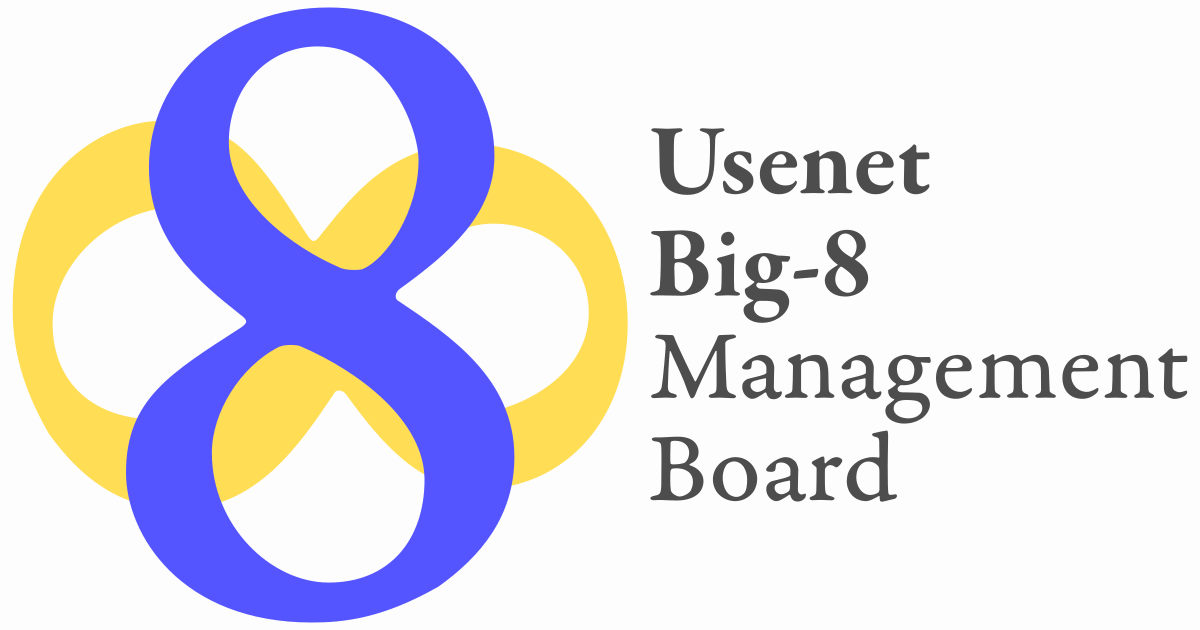 Big 8 Usenet